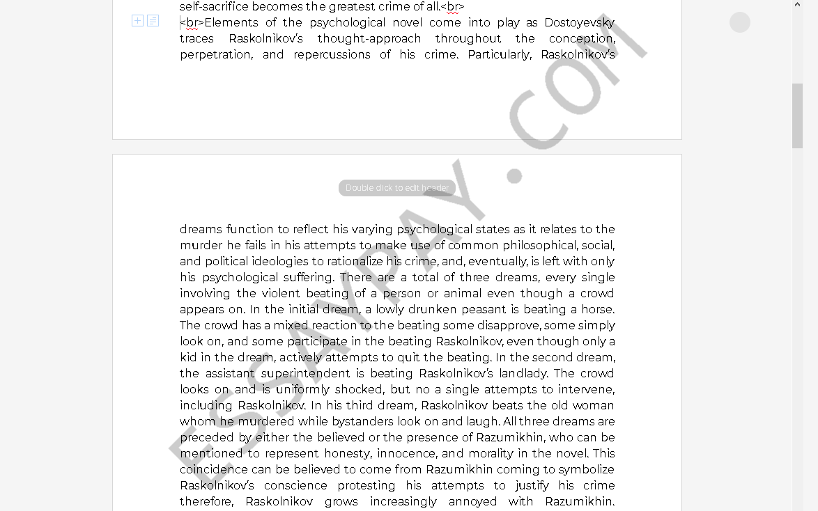 Essay on good order and discipline