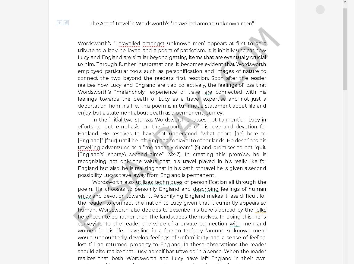 Descriptive essay person