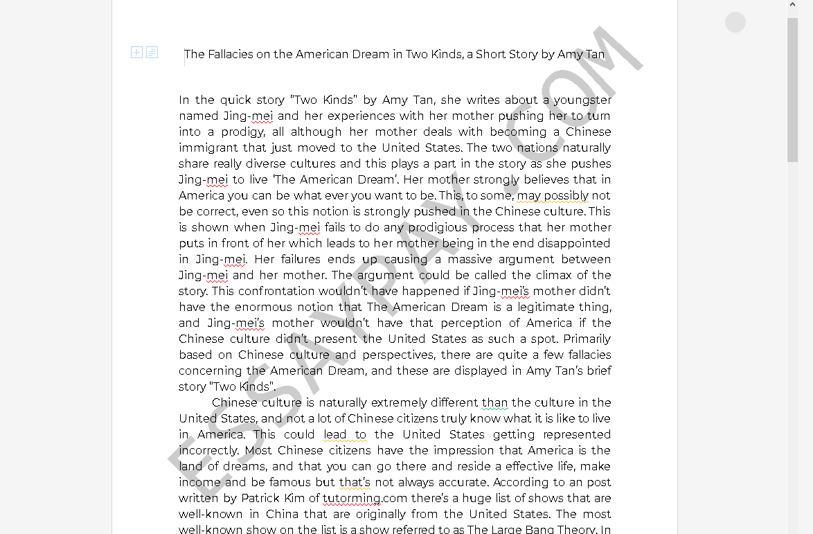 English language model essays