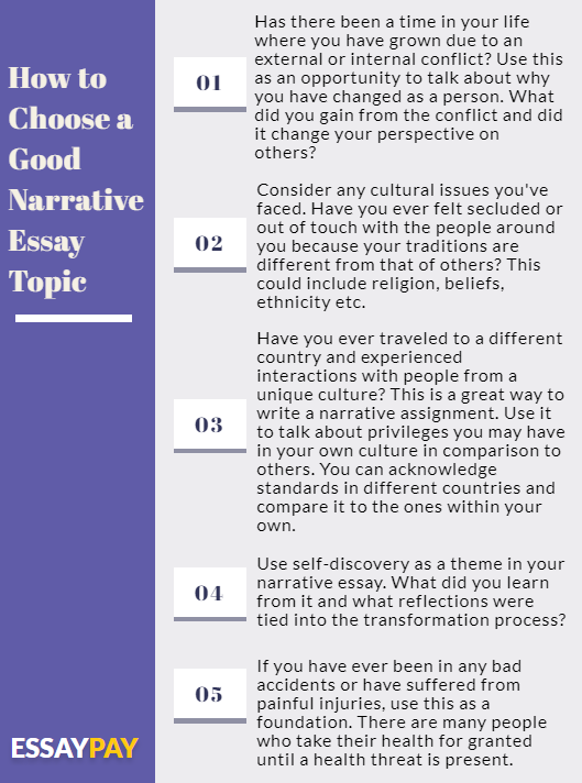 10 Tips for Choosing Narrative Essays Topics